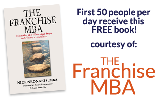 First 50 People per day receive a free copy of The Franchise MBA