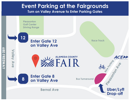 Del Mar Fairgrounds Map